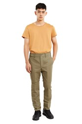 Christophe Lemaire Chinos Olive Green