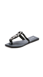 Pollen Special Thong Sandals Black