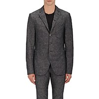 John Varvatos Men's Slim Fit Sportcoat Blue