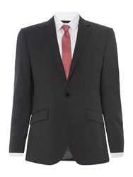 Kenneth Cole Hudson Panama Suit Jacket Charcoal