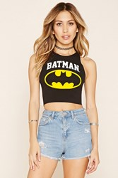 Forever 21 Batman Graphic Crop Top