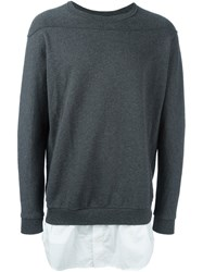 3.1 Phillip Lim Shirt Tail Sweatshirt Grey
