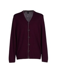 Boss Black Knitwear Cardigans Men Purple