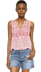 Joie Axton Blouse Coral Rose