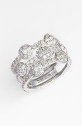 Kwiat 'Moonrise' Diamond Stack Ring Nordstrom Exclusive White Gold