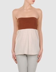 Suoli Tube Tops Brown
