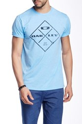 Oakley Four Square Tee Blue