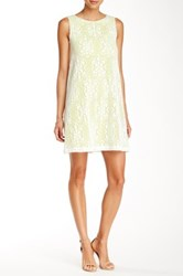 Muse Lime Sorbet Shift Dress Green