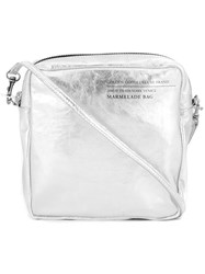 Golden Goose Deluxe Brand 'Marmelade' Crossbody Bag Metallic