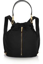 Elizabeth And James Cynnie Sling Convertible Leather Trimmed Shell Backpack