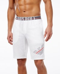 Emporio Armani Men's Bermuda Shorts White