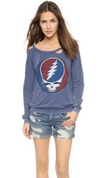 Chaser Steal Your Face Grateful Dead Sweatshirt Multi