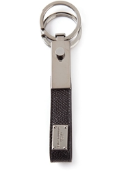 Dolce And Gabbana 'Dauphine' Key Ring Black