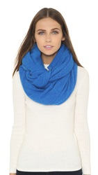 White Warren Cashmere Travel Wrap Juniper Heather