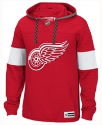 Reebok Men's Detroit Red Wings Jersey Pullover Hoodie