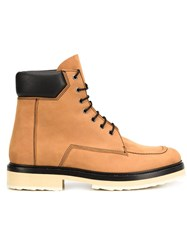 Pierre Hardy Chunky Sole Boots Brown