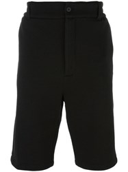 Helmut Lang Knee Length Shorts Black