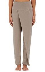 Weargrace Women's Cotton Blend Sari Pants Grey