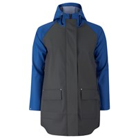 Elka Men's Thy Rain Jacket Dark Grey Royal Blue Grey Blue
