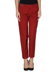 Notify Jeans Notify Casual Pants Brick Red