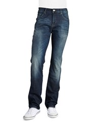 Strellson Tapered Leg Jeans Dark Blue