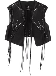 Marcelo Burlon County Of Milan 'Anelis' Gilet Black