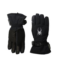 Spyder Synthesis Ski Glove Black Silver Ski Gloves