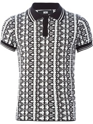 Ktz Printed Polo Shirt Black