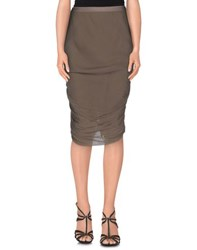 Rick Owens Skirts Knee Length Skirts Women