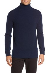 Kenneth Cole Black Label Men's Wool And Cashmere Turtleneck Sweater
