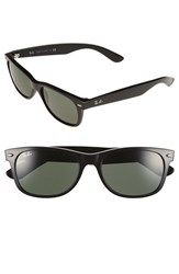 Men's Ray Ban 'New Wayfarer' 55Mm Sunglasses Black Green