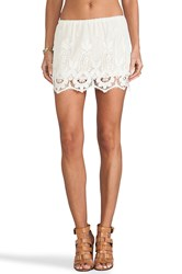 Jens Pirate Booty Forever Young Mini Skirt Ivory