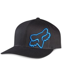 Fox Hat Flex 45 Hat Black Blue