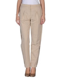 Lanvin Casual Pants Beige