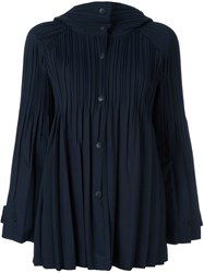 Issey Miyake Pleats Please By Pleated Jacket Blue