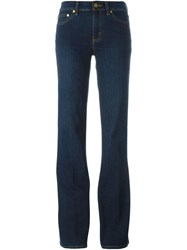 Tory Burch Flared Jeans Blue