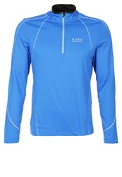 Gore Running Wear Essential Long Sleeved Top Brilliant Blue Blizzard Blue