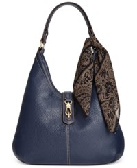 Tignanello Cargo Hobo Bag Midnight