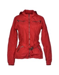 Yes Zee By Essenza Jackets Red