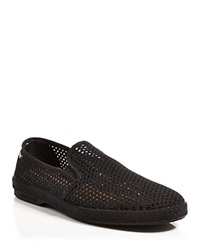 Rivieras Classic All Over Mesh Leisure Shoes Black