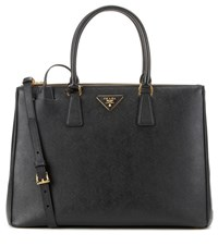 Prada Galleria Saffiano Leather Tote Black
