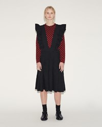 Comme Des Garcons Ester Suspender Dress Black