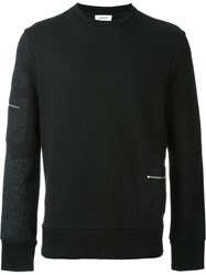 Tim Coppens Patch Pocket Sweater Black