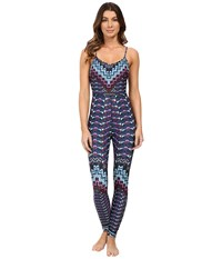 Mara Hoffman Rugs Bodysuit Turquoise Women's Jumpsuit And Rompers One Piece Blue