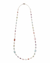 Ippolita 18K Rock Candy Summer Rainbow Chain Necklace 34'L Gold