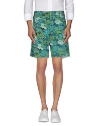 Band Of Outsiders Trousers Bermuda Shorts Men Green
