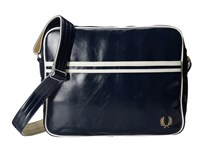 Fred Perry Classic Shoulder Bag Navy Ecru Messenger Bags