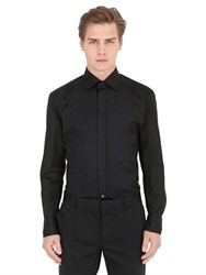 Eton Cotton Poplin Evening Shirt