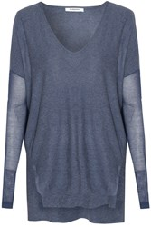 Alice And You Long Sleeved Jumper Navy