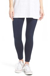 Women's Spanx Denim Crop Leggings Dark Indigo